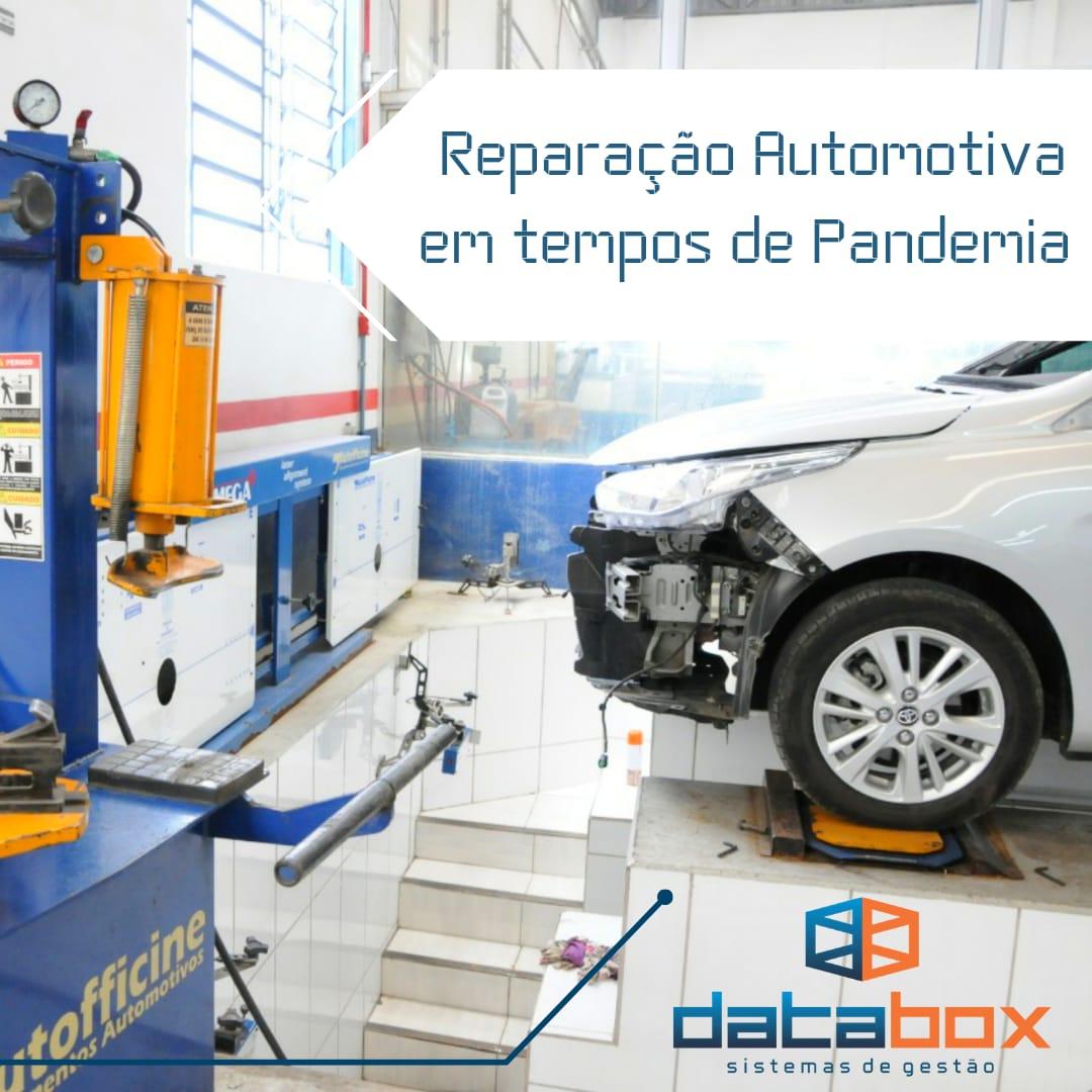 Reparação Automotiva em tempos de Pandemia